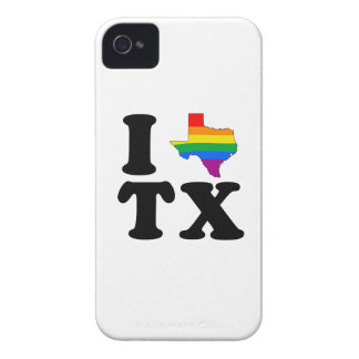 I LOVE GAY TEXAS iPhone 4 CASES