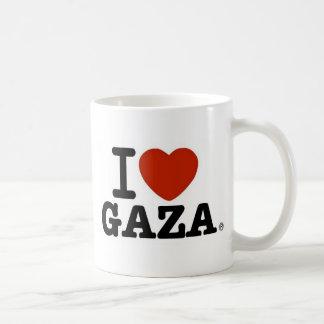 I Love Gaza Basic White Mug