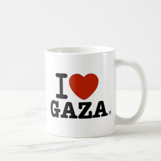 I Love Gaza Coffee Mug