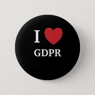 I Love GDPR I Heart GDPR