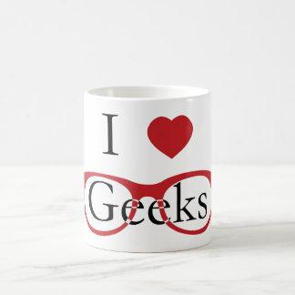 I Love Geeks - M1 Basic White Mug