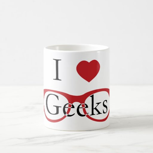 I Love Geeks - M1 Coffee Mug