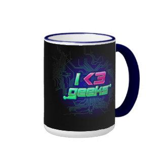 I Love Geeks Mug