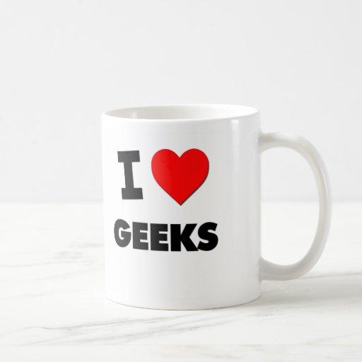 I Love Geeks Mugs