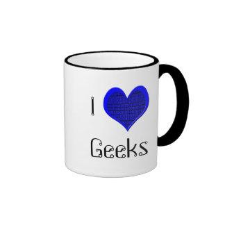 I Love Geeks, mug