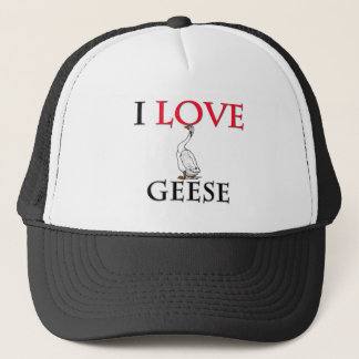 I Love Geese Trucker Hat