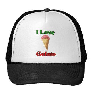 I Love Gelato (Italian Ice Cream) Cap