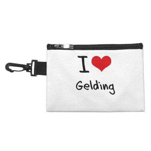 I Love Gelding Accessory Bag