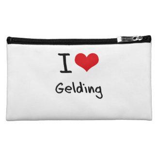 I Love Gelding Makeup Bag
