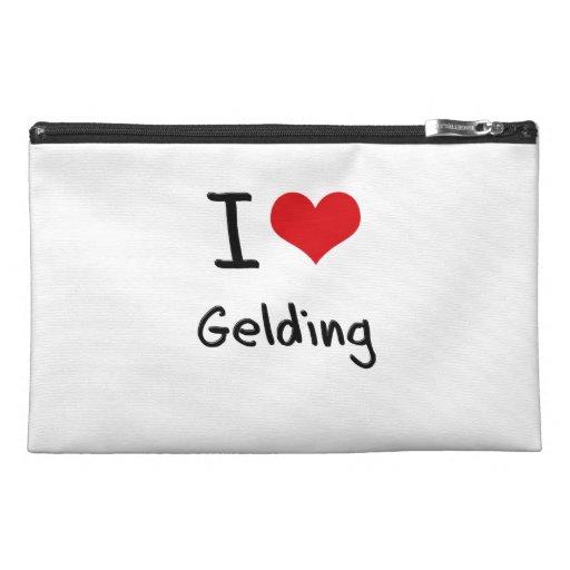 I Love Gelding Travel Accessories Bags