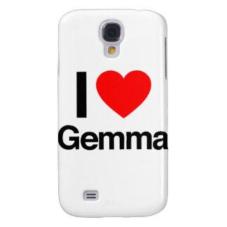 i love gemma samsung galaxy s4 cases