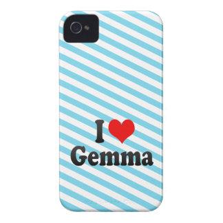 I love Gemma iPhone 4 Case-Mate Case