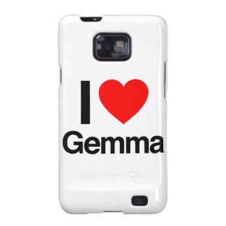 i love gemma galaxy SII cover