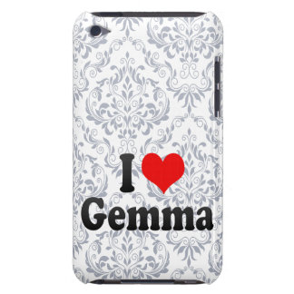 I love Gemma Barely There iPod Case