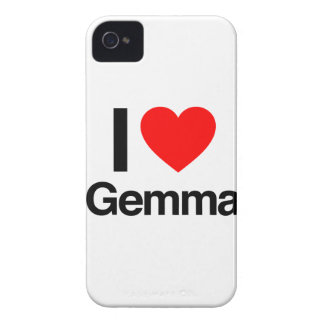 i love gemma iPhone 4 covers