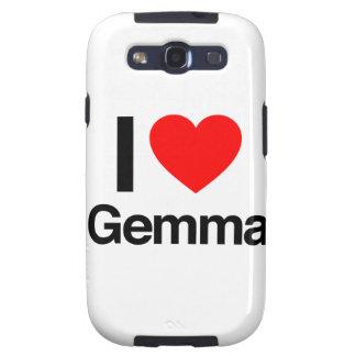 i love gemma galaxy s3 case