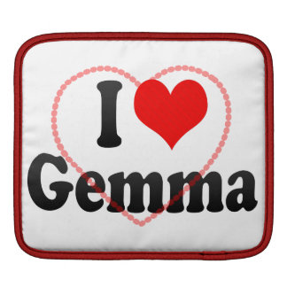 I love Gemma iPad Sleeves