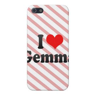 I love Gemma iPhone 5 Case