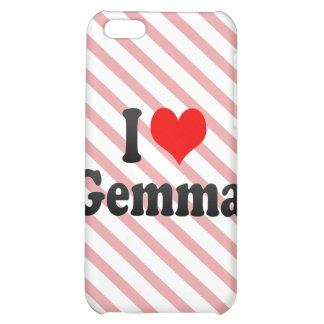I love Gemma iPhone 5C Covers