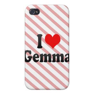 I love Gemma iPhone 4/4S Case