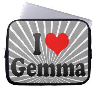 I love Gemma Computer Sleeves