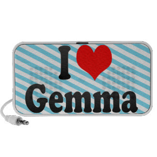 I love Gemma PC Speakers