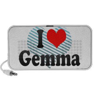 I love Gemma iPhone Speaker