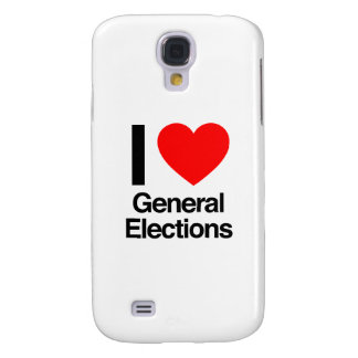 i love general elections galaxy s4 case