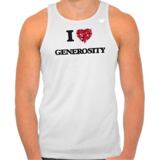 I Love Generosity T Shirts