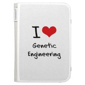 I Love Genetic Engineering Kindle 3G Covers