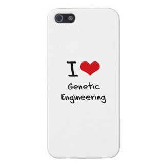 I Love Genetic Engineering Cases For iPhone 5