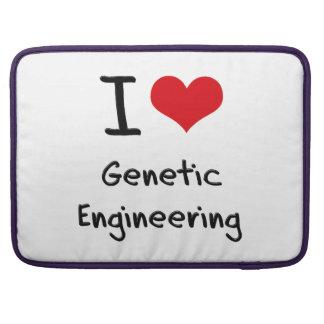I Love Genetic Engineering Sleeve For MacBooks