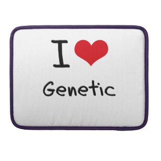 I Love Genetic MacBook Pro Sleeves
