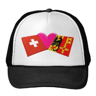 I Love Geneva Trucker Hats