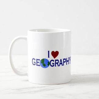 I Love Geography Coffee Mug