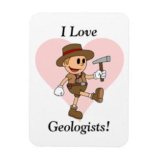 I Love Geologists! Magnets