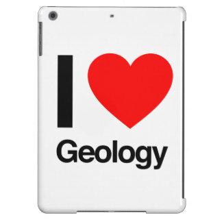 i love geology iPad air covers
