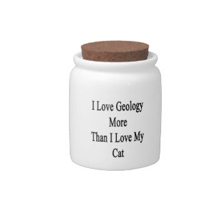 I Love Geology More Than I Love My Cat Candy Dishes