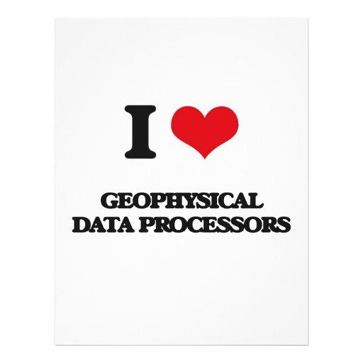 I love Geophysical Data Processors Flyers