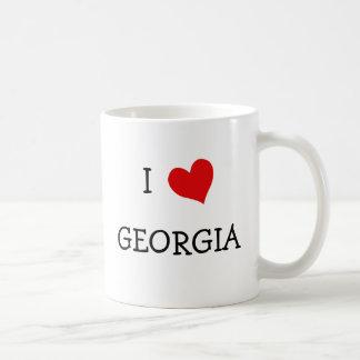 I Love Georgia Coffee Mug