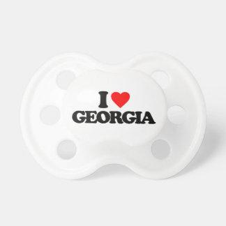 I LOVE GEORGIA PACIFIERS