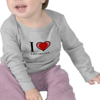 I Love Georgia T Shirt