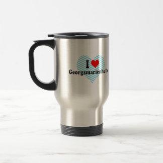 I Love Georgsmarienhutte, Germany Coffee Mug