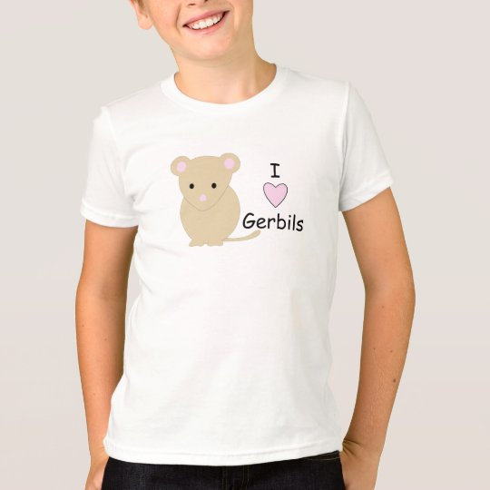 I Love Gerbil T-Shirt