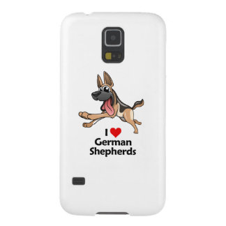 I Love German Shepherds Galaxy S5 Case