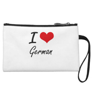I love German Wristlet Clutches