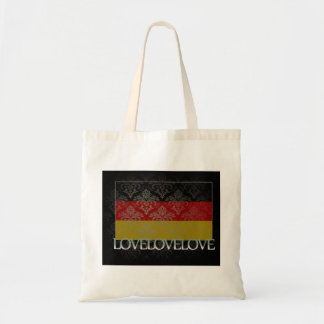 I love Germany Cool Budget Tote Bag