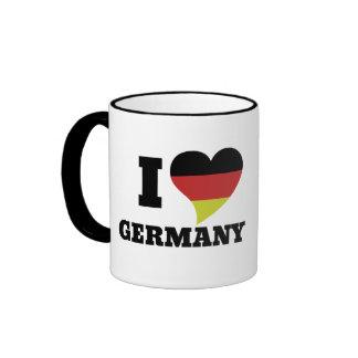 I love Germany Ringer Mug