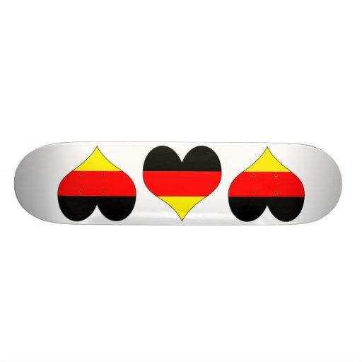 I Love Germany Skate Decks