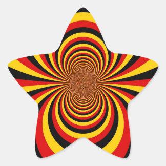 I love Germany Star Sticker